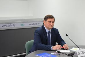 Заместитель председателя Госстандарта Республики Беларусь Дмитрий Барташевич