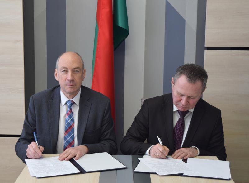 Подписан договор о научно-техническом сотрудничестве между БелГИМ и ИПФ НАН Беларуси